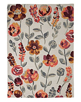 Autumn Flourish Wool Rug Large