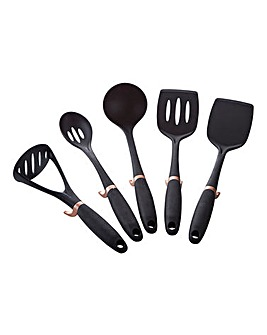 Set of 5 Self Standing Kitchen Tools