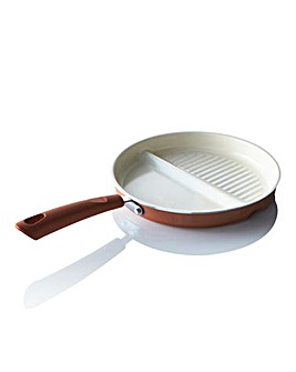 Ceramic 2in1 Multifunctional Pan Copper