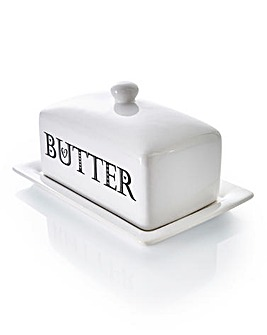 Alfabeto Butter Dish