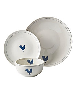 Country Kitchen 12pc Dinnerset