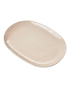 Monsoon Gather Large Platter