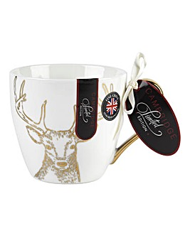Cambridge Gold Reindeer Kendal Mug