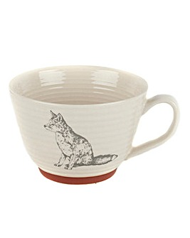 Portobello Stafford Wildlife Fox Mug