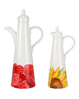 Botanic Blooms Oil & Vinegar Set