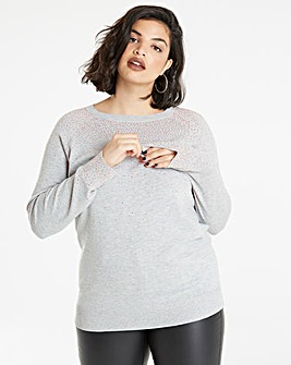 Embellished Stud Jumper
