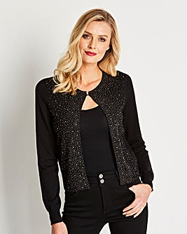 Heat Sealed Glitzy Shrug