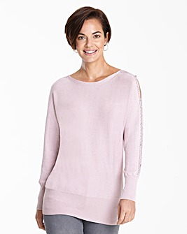 Open Sleeve Jumper