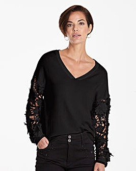 3D Lace Jumper