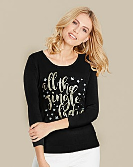 Jingle Ladies Christmas Jumper