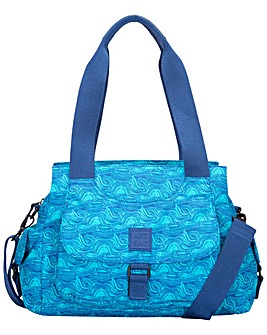 Artsac Twin Strap Zip Top Front Pocketed