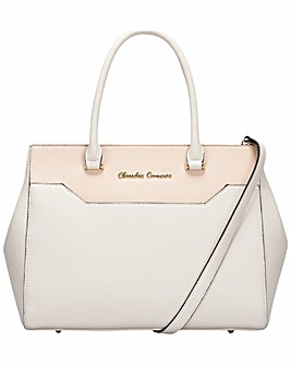 Claudia Canova Twin Strap Zip Top Tote