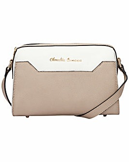 Claudia Canova Zip Top Cross Body Bag