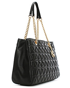 Michael Kors Pyramid Quilted Tote Bag