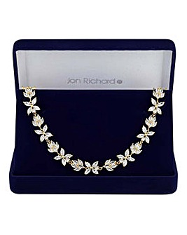 Jon Richard statement choker necklace