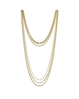 Mood multi row necklace