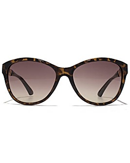 Guess Chain Temple Cateye Sunglasses
