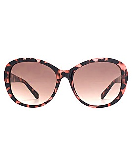 French Connection Facet Trim Sunglasses