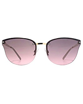 French Connection Rimless Sunglasses
