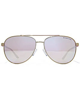 Michael Kors Hvar Aviator Sunglasses