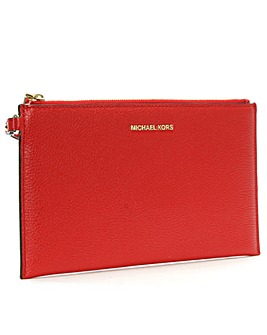 Michael Kors Pebbled Leather Clutch Bag