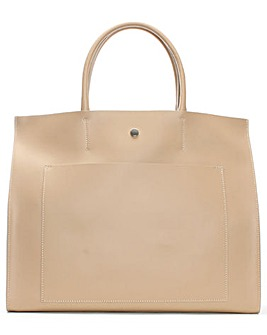Daniel Coast Leather Pocket Tote Bag