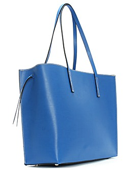 Daniel Shore Leather Unlined Tote Bag
