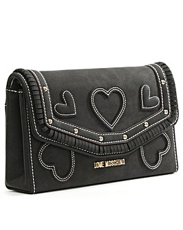 Love Moschino Katie Heart Cross-Body Bag