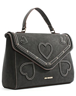 Love Moschino Kirsty Heart Satchel Bag