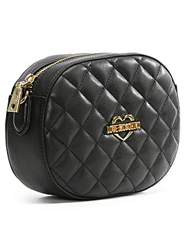Love Moschino Small Quilted Cross-Body