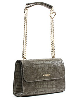 Love Moschino Kim Reptile Shoulder Bag