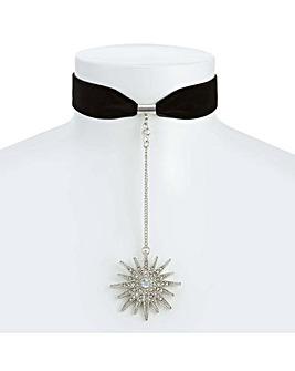 Mood Oversized Star Choker Necklace