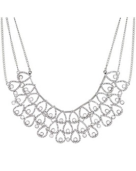 Mood Crystal Peardrop Collar Necklace