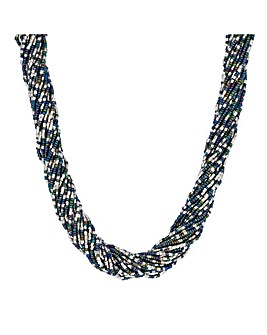 Mood Beaded Twist Necklace