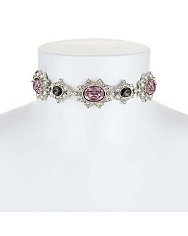 Mood Ornate Crystal Choker