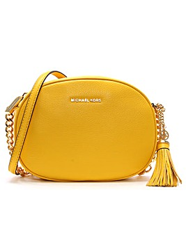 Michael Kors Tassel Oval Messenger Bag