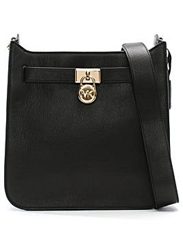 Michael Kors Leather Padlock Messenger