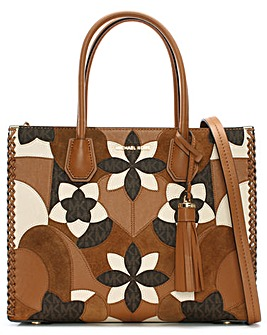 Michael Kors Floral Patchwork Tote Bag