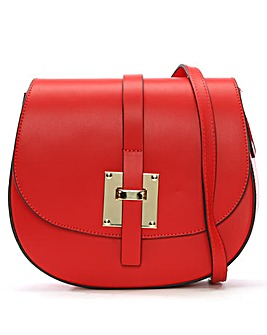 Daniel Mumble Metal Trim Satchel Bag