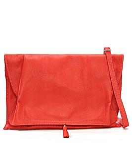 Daniel Match Large Ruched Clutch Bag
