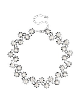 Jon Richard pearl choker necklace
