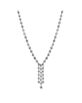 Jon Richard crystal droplet necklace