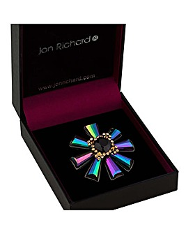 Jon Richard starburst brooch