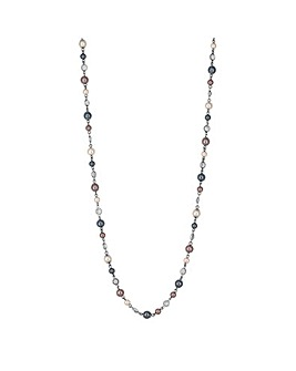 Jon Richard pearl beaded long necklace