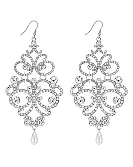 Mood Ornate Oversized Earring