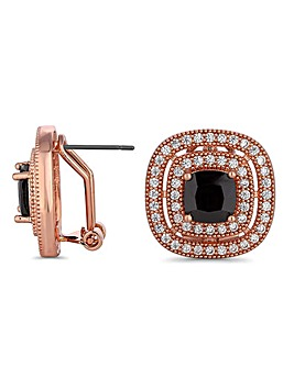 Jon Richard crystal surround earring