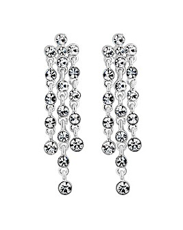Jon Richard multi droplet earring