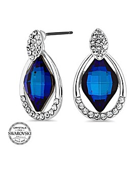 Jon Richard Swarovski crystal earring