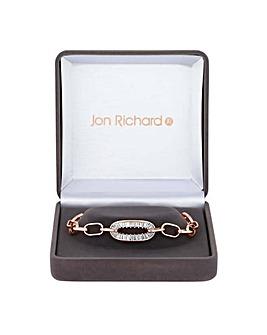 Jon Richard oval link bracelet