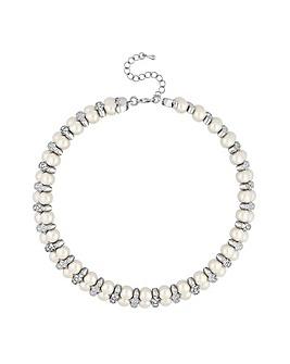 Jon Richard crystal wrap choker necklace